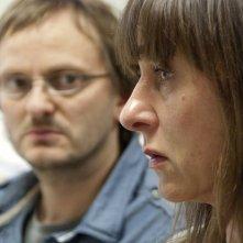 Milan Peschel e Steffi Kühnert in Halt auf freier Strecke