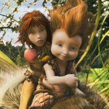 Betamache e Selenia in un'immagine tratta da Arthur 3: La guerra dei due mondi