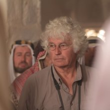 Il regista Jean-Jacques Annaud sul set del film