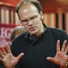 Il regista Jean-Pierre Améris sul set di Emotivi anonimi