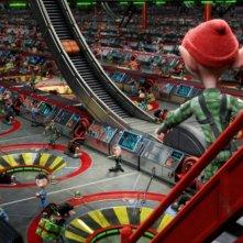Arthur Christmas: Il figlio di Babbo Natale in 3D, la catena di montaggio dei regali di Natale