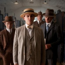 Boardwalk Empire: Michael Stuhlbarg, Vincent Piazza e Anatol Yusef in una scena dell'episodio Two Boats and a Lifeguard