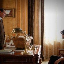 Boardwalk Empire: Steve Buscemi e Paz de la Huerta in una scena dell'episodio Peg of Old