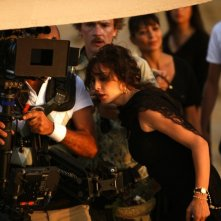 Nadine Labaki sul set del suo Where Do We Go Now?