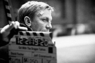 Daniel Craig sul set del film Millennium - Uomini che odiano le donne