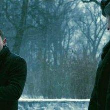 Millennium - Uomini che odiano le donne: Daniel Craig e Christopher Plummer in una scena del film