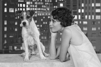 The Artist: Bérénice Bejo in una simpatica immagine tratta dal film