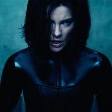 Underworld: Il risveglio, Kate Beckinsale nel ruolo di Selene in una scena del film