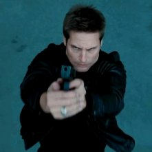 Josh Holloway in azione in una scena di Mission: Impossible - Protocollo Fantasma