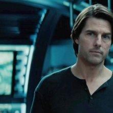 Una bella immagine di Tom Cruise protagonista di Mission: Impossible - Protocollo Fantasma