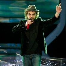 X-Factor 5: Vincenzo Di Bella canta Azzurro nella prima puntata