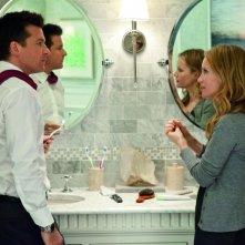 Jason Bateman in una scena di Cambio Vita con Leslie Mann