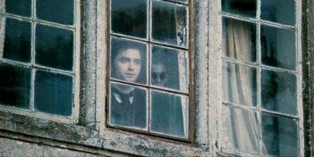 Un'inquietante immagine di Daniel Radcliffe tratta dal film The Woman in Black