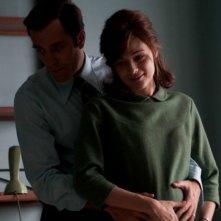 Valerio Mastandrea e Laura Chiatti in una scena di Romanzo di una strage