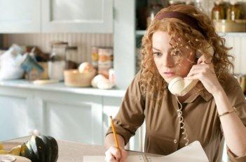 Emma Stone in una scena di The Help