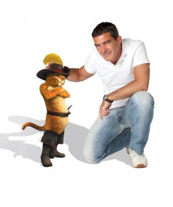 Il gatto con gli stivali: Antonio Banderas doppiatore del protagonista del nuovo film della Dreamworks