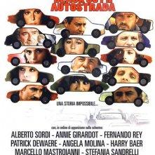 L'ingorgo: locandina del film di Luigi Comencini