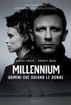 Millennium - Uomini che odiano le donne: la locandina italiana del film