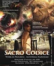 Sacro Codice: la locandina del film