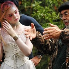 Francis Ford Coppola ed Elle Fanning sul set di Twixt