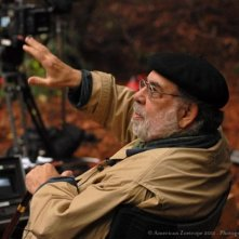 Francis Ford Coppola sul set di Twixt