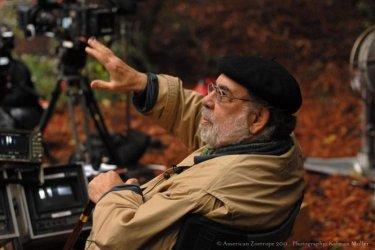 Francis Ford Coppola sul set di Twixt