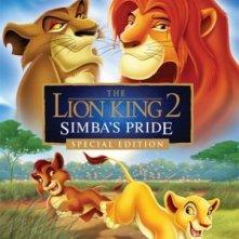 Il re leone 2: il regno di Simba: la locandina del film
