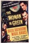 La donna in verde - la locandina