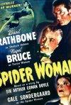 La donna ragno - locandina del film su Sherlock Holmes