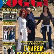 Silvio Berlusconi in copertina su Oggi, con Angela Sozio