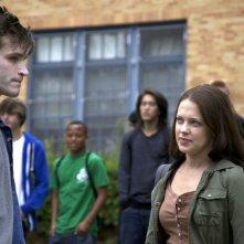Heather Ann Davis ed Eric Callero in una scena del film Succhiami