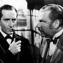 Le avventure di Sherlock Holmes: Basil Rathbone e Nigel Bruce sono Holmes e Watson