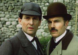 The Adventures of Sherlock Holmes: Jeremy Brett e David Burke