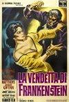 La vendetta di Frankenstein: Locandina italiana del film