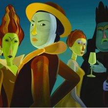 Le tableau: una colorata immagine del film d'animazione