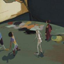 Le tableau: una scena del cartoon francese del 2011