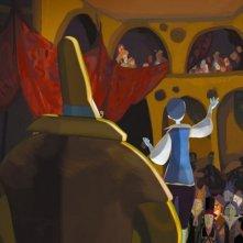 Le tableau: una sequenza del film d'animazione francese