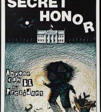 Secret Honor: la locandina del film