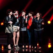 X-Factor 5: Le 5 durante lo scontro finale della seconda puntata