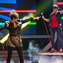X-Factor 5: un momento dell'esibizione de Le 5 con Single Ladies nella seconda puntata