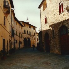 Il più lungo giorno - scenografia di una strada realizzata da Giuseppe Pirrotta