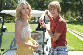 Revenge: Emily VanCamp e Gabriel Mann nell'episodio Duplicity