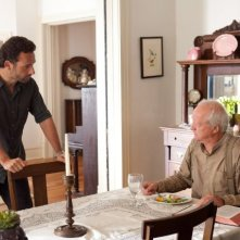 The Walking Dead: Andrew Lincoln e Scott Wilson in una scena dell'episodio Muore la speranza