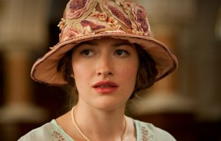 Boardwalk Empire: la bellissima Kelly Macdonald in una scena dell'episodio Georgia Peaches