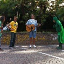 In Capitan Basilico 2 c'è anche Toto Cutugno (qui con Massimo Bosso)