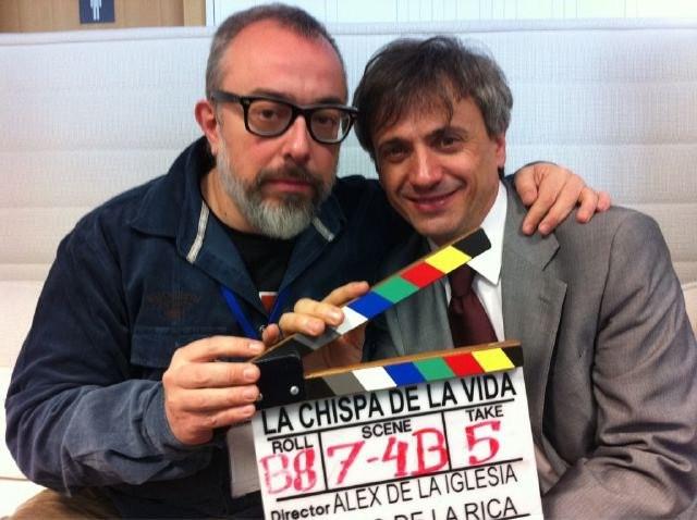 Alex De La Iglesia Sul Set De La Chispa De La Vida Con Jose Mota 224554