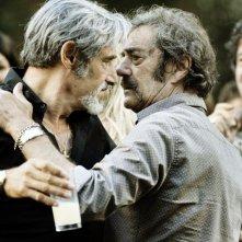 Lionnel Astier, Gérard Lanvin in Les Lyonnais con Tchéky Karyo