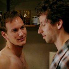 Patrick Wilson nella miniserie Angels in America con Ben Shenkman