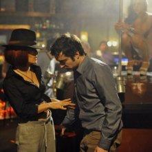 Salma Hayek con Mathieu Demy in Americano (2011)