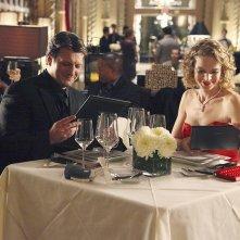 Castle: Kristin Lehman e Nathan Fillion nell'episodio Eye of the Beholder